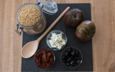 Risonis aux Tomates séchées et Feta