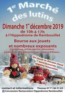 Marché noel Rambouillet Pasteole