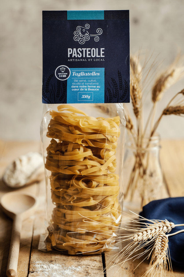 Pasteole - Tagliatelle - pâtes artisanales et locales
